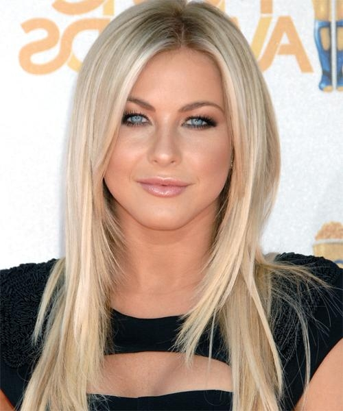 Most Up To Date Julianne Hough Long Hairstyles Within Julianne Hough Long Straight Formal Hairstyle (View 12 of 15)