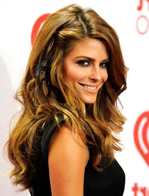 Most Up To Date Long Haircuts For Wavy Thick Hair Within Maria Menounos Long Hairstyles: 2014 Wavy Hairstyles For Thick (View 13 of 15)