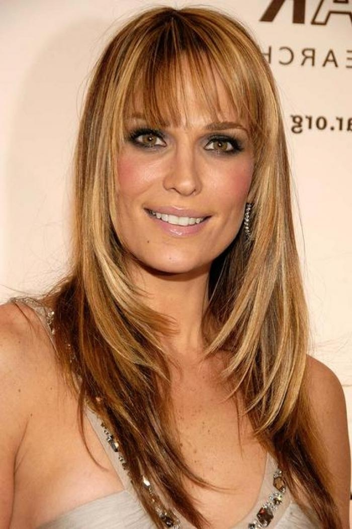 Most Up To Date Long Haircuts For Women With Straight Hair Regarding For Long Straight Brown Hair (View 9 of 15)