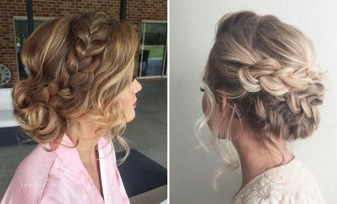 Most Up To Date Long Hairstyle For Prom Inside 27 Gorgeous Prom Hairstyles For Long Hair | Stayglam (View 10 of 20)