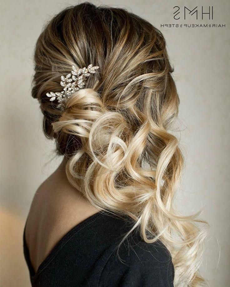 Most Up To Date Long Hairstyles Bridesmaids In 25+ Trending Bridesmaids Hairstyles Ideas On Pinterest (View 15 of 20)