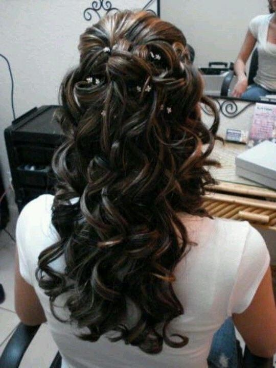 Most Up To Date Long Hairstyles For A Ball Intended For 25+ Beautiful Military Ball Hair Ideas On Pinterest | Hair Updo (View 14 of 20)
