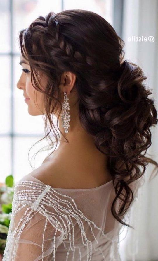 Most Up To Date Long Hairstyles For Bridesmaids Intended For 25+ Trending Bridesmaids Hairstyles Ideas On Pinterest (View 16 of 20)