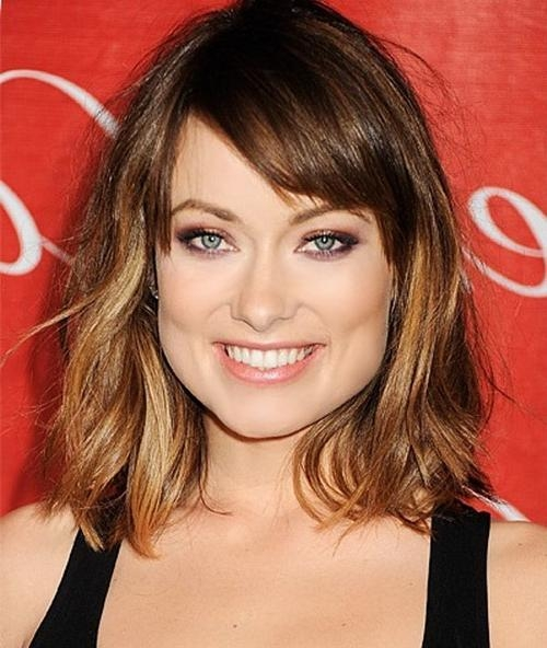 Most Up To Date Long Hairstyles For Square Faces With Bangs Throughout 52 Short Hairstyles For Round, Oval And Square Faces (View 11 of 15)