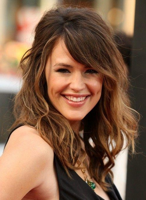 Most Up To Date Long Hairstyles For Women With Bangs With Regard To 14 Stylish Hairstyles For Women With Heart Shaped Face – Pretty (View 17 of 20)