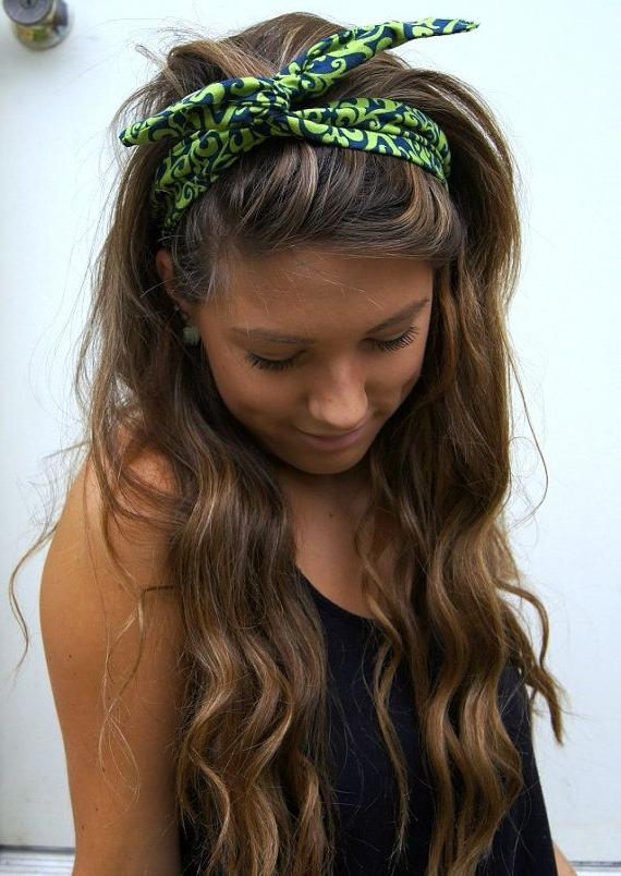 Most Up To Date Long Hairstyles With Headbands Within The 25+ Best Headband Hairstyles Ideas On Pinterest | Headband (View 13 of 15)