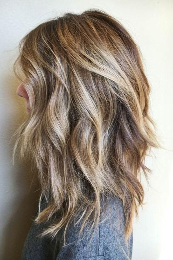 Most Up To Date Medium Long Hairstyles With Layers Regarding Best 25+ Medium Long Haircuts Ideas On Pinterest | Medium Long (View 16 of 20)