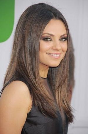 Most Up To Date Mila Kunis Long Hairstyles With Best 25+ Mila Kunis Hair Ideas On Pinterest | Mila Kunis Hair (View 12 of 15)