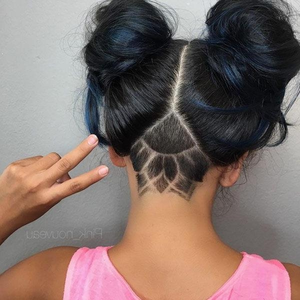 Most Up To Date Undercut Long Hairstyles For Women Within 30 Stylish Undercut Hairstyles For Women | Undercut, Undercut (View 16 of 20)