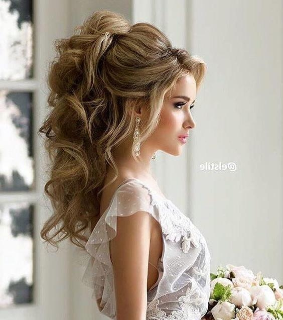 Most Up To Date Wedding Long Hairstyles In Wedding Hairstyle Inspiration | Wedding, Hair Style And Wedding (View 15 of 20)