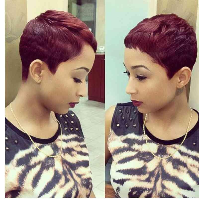 Must See Ideas Burgundy Short | Simple Stylish Haircut Regarding Burgundy Short Hairstyles (View 20 of 20)