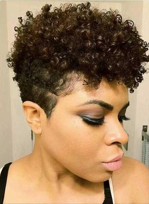 Natural Curly Hairstyles For Black Women – Hairstyle For Women With Curly Short Hairstyles For Black Women (View 13 of 20)