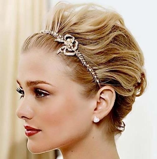 New Short Hairstyles For Bridesmaid – Short Hairstyles 2018 Within Short Hairstyles For Bridesmaids (View 14 of 20)