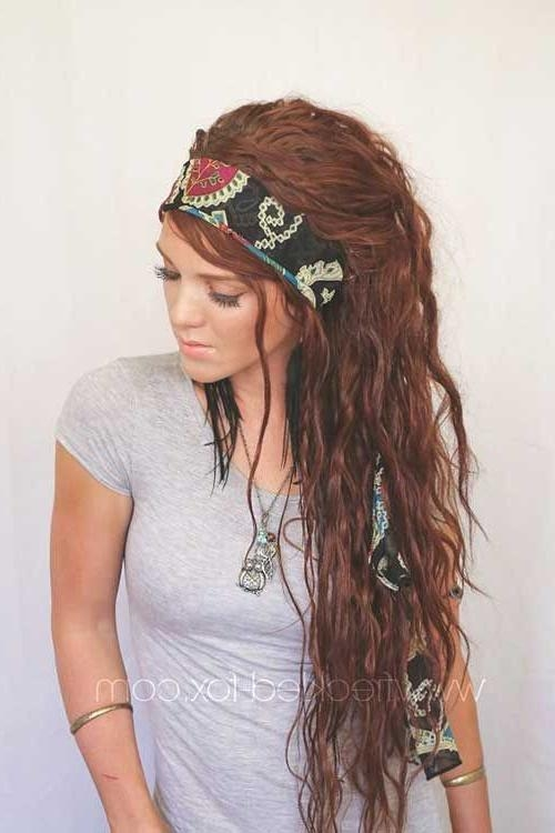 Newest Boho Long Hairstyles Regarding Best 25+ Bohemian Hairstyles Ideas On Pinterest | Hippy Hair (View 17 of 20)