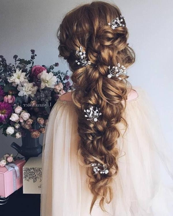 Newest Brides Long Hairstyles Inside 5636 Best Unique Wedding Ideas You'll Want To Steal Images On (View 6 of 20)