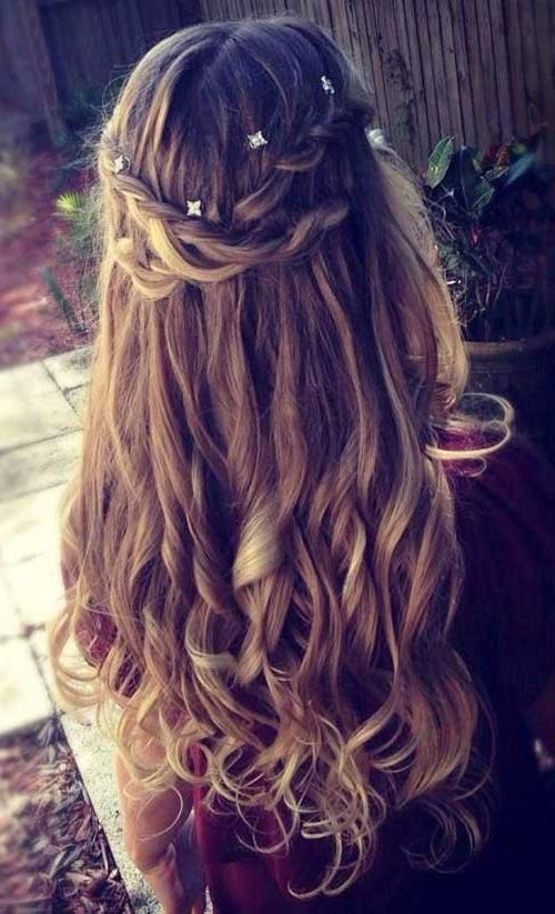 Newest Curly Long Hairstyles For Prom Within 25+ Long Hair With Curls | Long Hairstyles 2016 – (View 13 of 15)