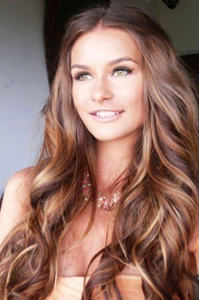 Newest Fall Long Hairstyles In 11 Best Brown Hair With Highlights Images On Pinterest (View 6 of 15)