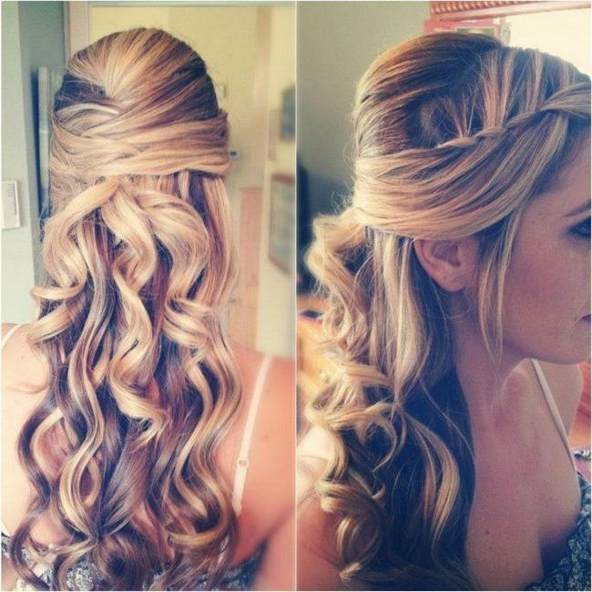 Newest Half Up Long Hairstyles Pertaining To Prom Hairstyle For Long Hair Half Up Half Down – Hairstyle Archives (View 19 of 20)