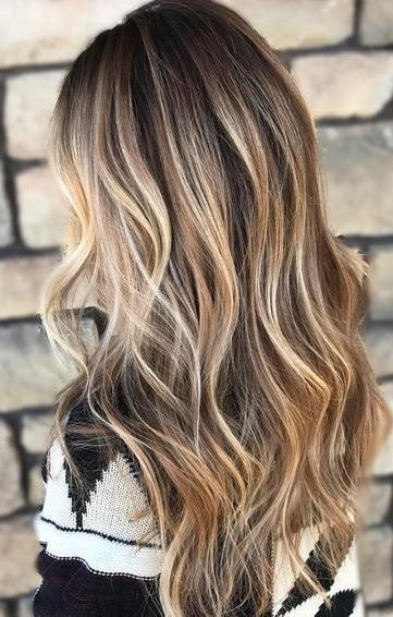Newest Highlighted Long Hairstyles Pertaining To Best 25+ Blonde Highlights Ideas On Pinterest | Blond Highlights (View 17 of 20)