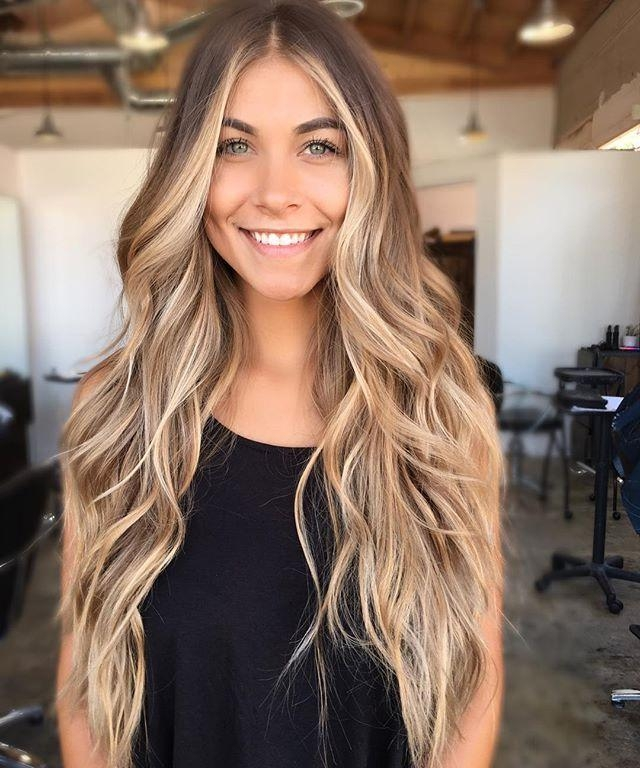 Newest Highlighted Long Hairstyles With Regard To Best 25+ Long Hair Highlights Ideas On Pinterest | Hair Highlights (View 9 of 20)