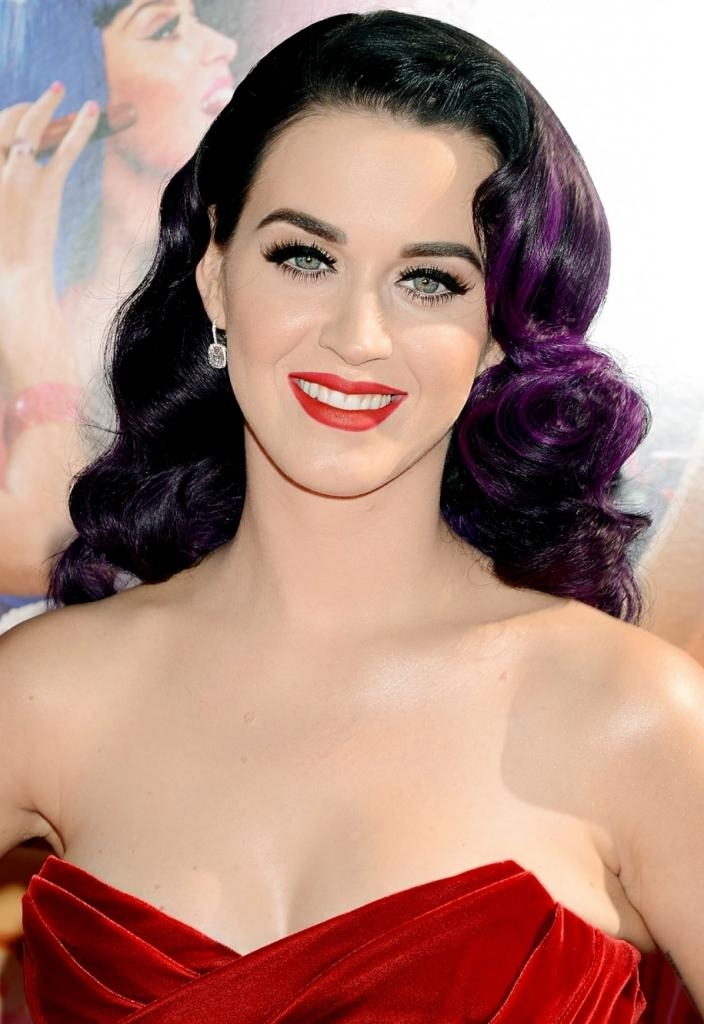 Newest Katy Perry Long Hairstyles For Katy Perry Long Hairstyles – Beautiful Long Hairstyle (View 13 of 15)