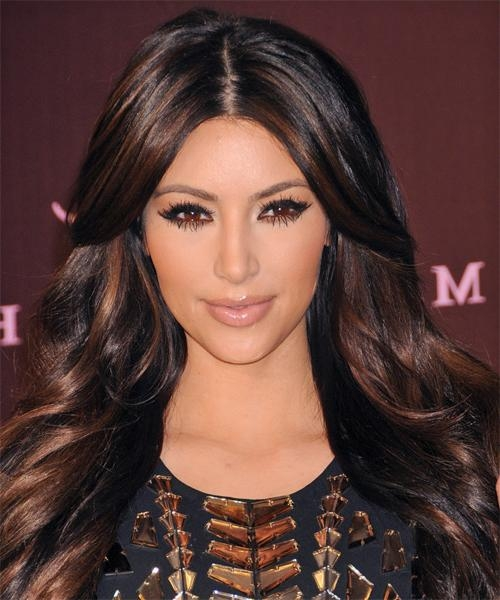 Newest Kim Kardashian Long Haircuts Intended For Kim Kardashian Hairstyles For 2018 | Celebrity Hairstyles (View 15 of 15)