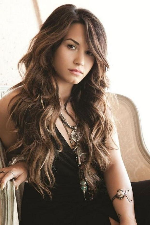 Featured Photo of Long Haircuts For Wavy Hair