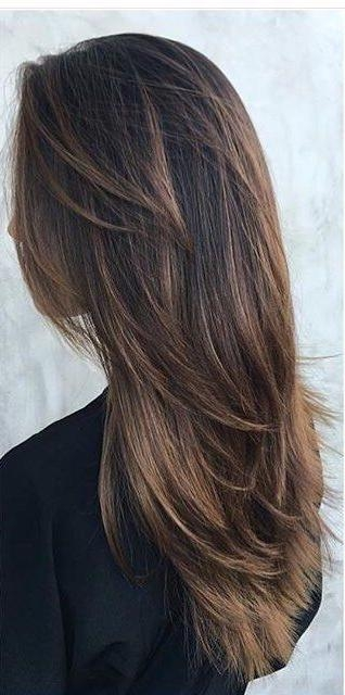 Newest Long Haircuts Layered Styles In Best 25+ Layered Haircuts Ideas On Pinterest | Layered Hair, Long (View 13 of 15)