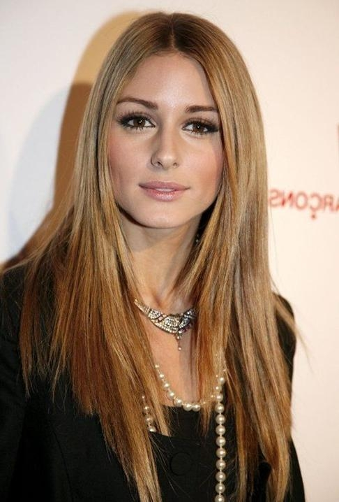 Newest Long Haircuts Straight Hair Regarding Olivia Palermo Haircut: Long Straight Hair – Popular Haircuts (View 13 of 15)