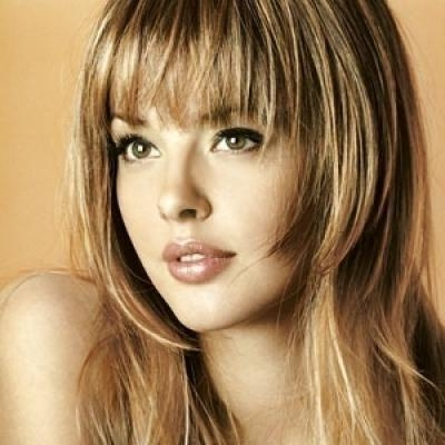 Newest Long Haircuts With Bangs For Oval Faces Inside 17 Best Hairstyles Images On Pinterest | Asian Hairstyles, Best (View 12 of 15)