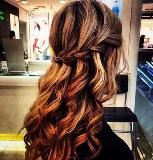 Newest Long Hairstyles Bridesmaids In 25+ Bridesmaids Hairstyles For Long Hair | Long Hairstyles 2016 –  (View 16 of 20)