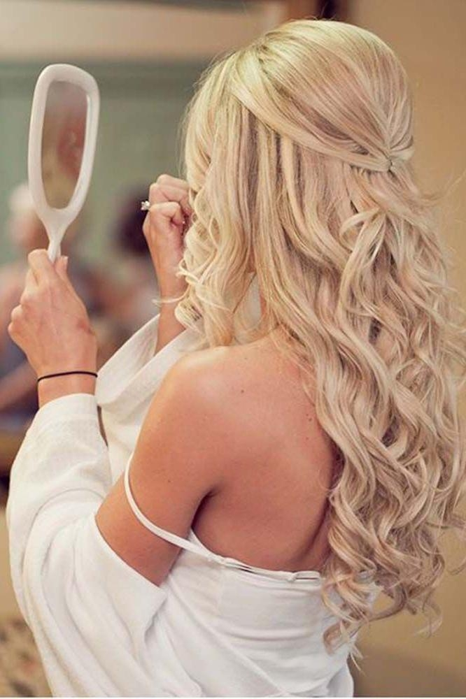 Newest Long Hairstyles Bridesmaids Throughout Best 25+ Bridesmaids Hairstyles Down Ideas On Pinterest | Wedding (View 18 of 20)