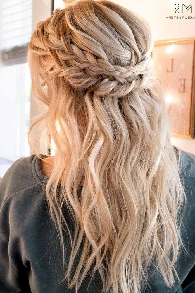 Newest Long Hairstyles For Dances Intended For Best 25+ Hairstyles For Dances Ideas On Pinterest | Hair Styles (View 8 of 20)