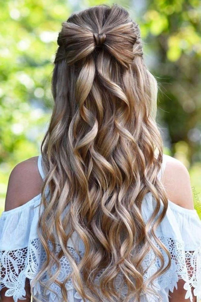 Newest Long Hairstyles For Homecoming With Regard To Best 25+ Homecoming Hairstyles Ideas On Pinterest | Hair Styles (View 16 of 20)