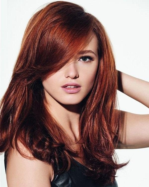 Newest Long Hairstyles For Red Hair For Best 25+ Red Hair Ideas On Pinterest | Red Velvet Hair Color (View 5 of 20)
