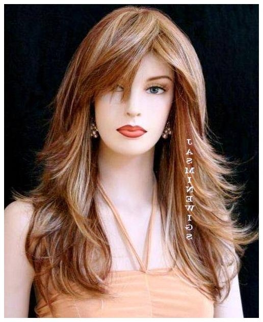 Newest Long Hairstyles For Thin Hair Oval Face Throughout Best Hairstyle For Thin Face For Woman Haisrstyle For Thin Hair (View 20 of 20)