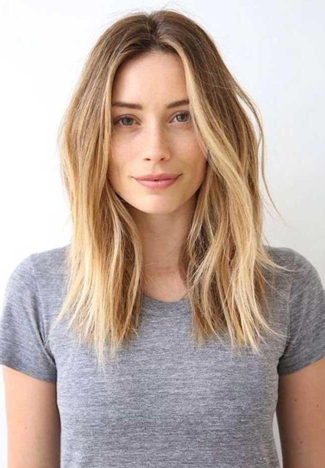 Newest Long Hairstyles Without Fringe For 8 Long Hairstyles We Love (View 17 of 20)