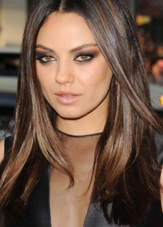 Newest Mila Kunis Long Hairstyles In 14 Trendy Mila Kunis Hairstyles For You Try It Today ! (View 13 of 15)
