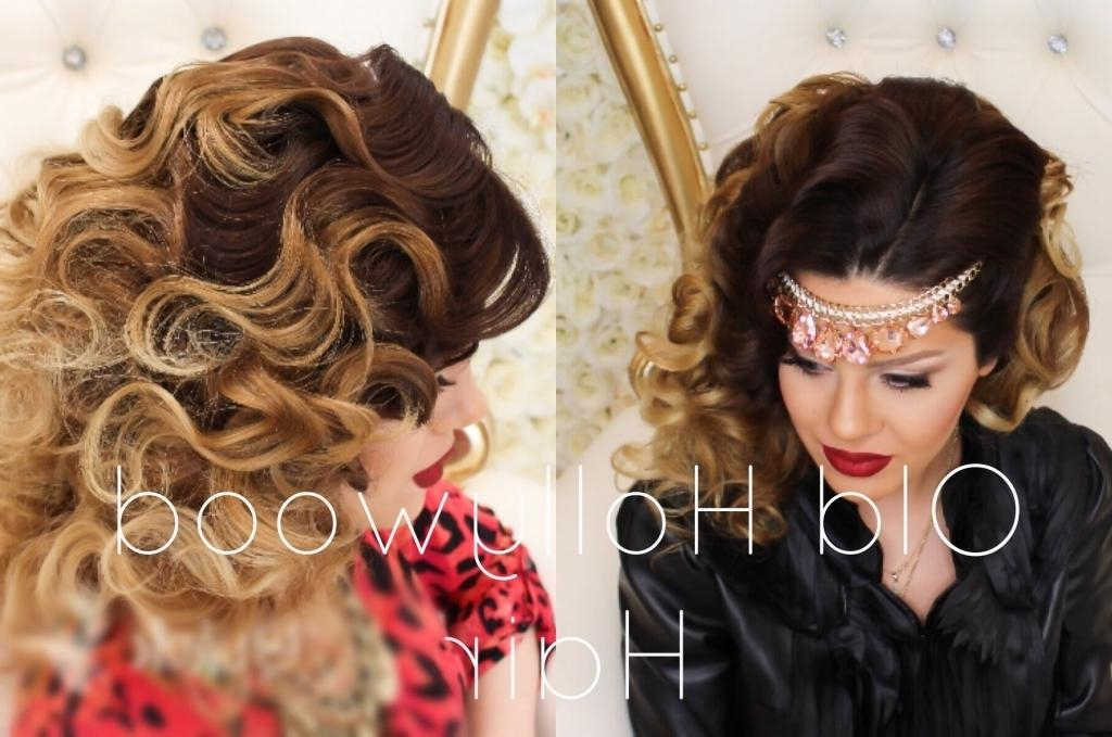 Newest Old Hollywood Long Hairstyles Inside Glamorous Updo Hairstyles Old Hollywood Updo Hairstyles Glamorous (View 18 of 20)