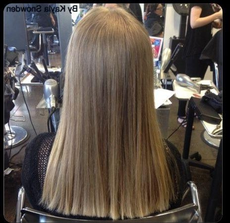 Newest One Length Long Haircuts Inside 8 Best Square One Length Below The Shoulders Images On Pinterest (View 9 of 15)