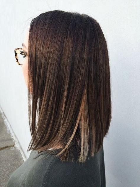 Newest One Length Long Haircuts Inside Best 25+ One Length Hair Ideas On Pinterest | Wavy Shoulder Length (View 12 of 15)