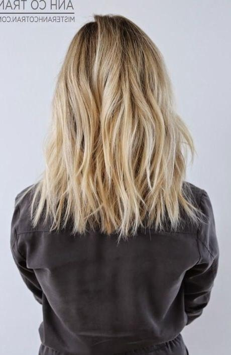 Newest One Length Long Haircuts Throughout Best 25+ One Length Hair Ideas On Pinterest | Wavy Shoulder Length (View 4 of 15)