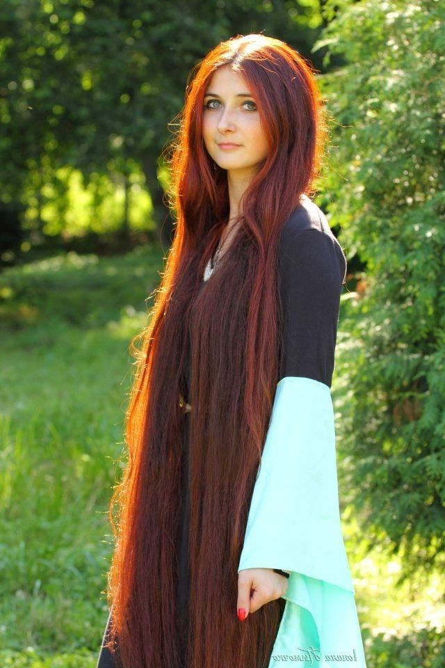 Newest Red Long Hairstyles Within Best 25+ Straight Red Hair Ideas On Pinterest | Which Red Hair (View 16 of 20)