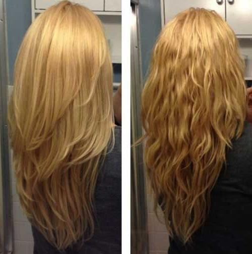 Newest Textured Long Haircuts With Regard To Best 25+ Long Textured Hair Ideas On Pinterest | Brown Lob (View 4 of 15)