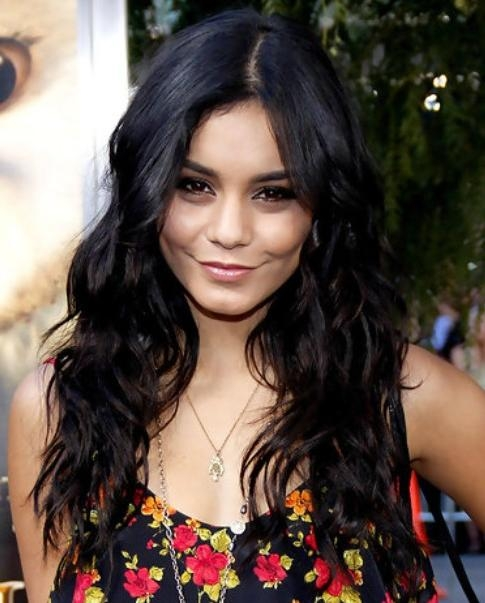 Newest Vanessa Hudgens Long Hairstyles Throughout Vanessa Hudgens Long Hairstyle: Curls For Summer – Pretty Designs (View 17 of 20)
