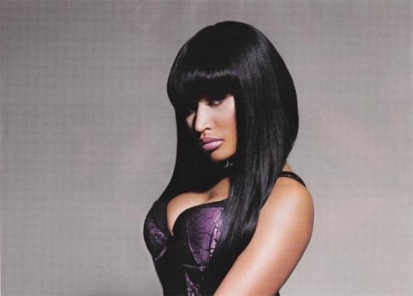 Nicki Minaj Silky Black Hair | Medium Hair Styles Ideas – 43371 With Nicki Minaj Short Haircuts (View 19 of 20)