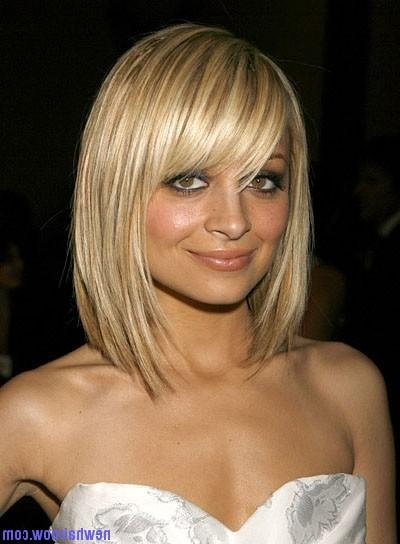 Nicole Richie's Chic Hairstyle – New Hair Now Within Rebonded Short Hairstyles (View 11 of 20)