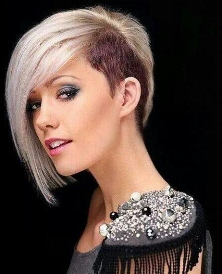 One Sided Bob Haircut] 20 Angled Bob Haircuts, Short Hairstyles For One Sided Short Hairstyles (Gallery 8 of 20)