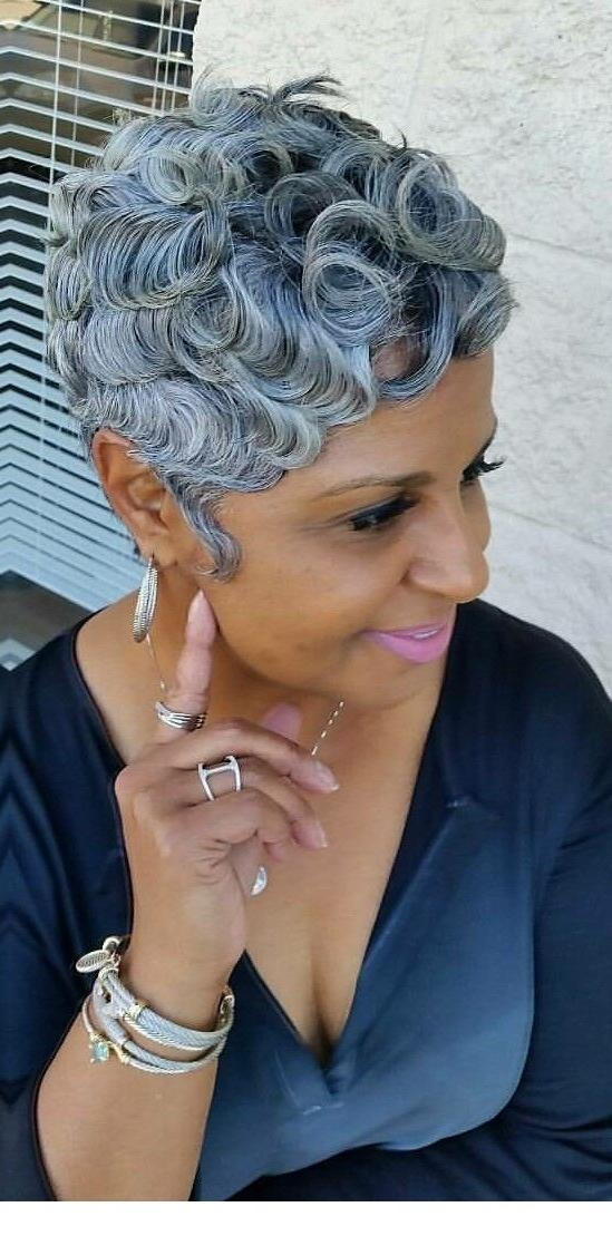 Over 50 Hairstyles Archives – Short Hairstyles 2018 In Short Hairstyles For Black Women With Gray Hair (Gallery 4 of 20)
