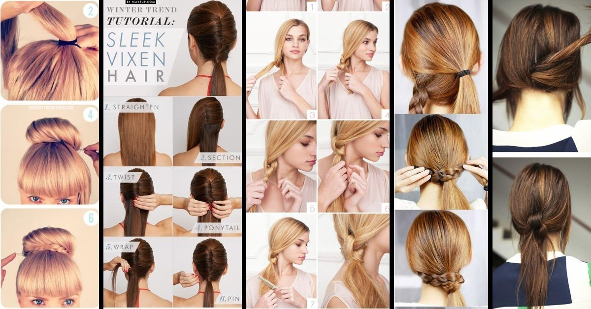 Photo Gallery Of Quick Long Hairstyles For Work (Viewing 8 Of 15 Throughout Short Hairstyles For Work (View 13 of 20)